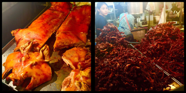 Pork, Pork & more Pork @ Night Market. Hua Hin Thailand