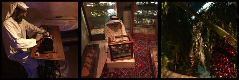 Dioramas inside Dubai Museum @ Al Fahidi Fort. Dubai. UAE
