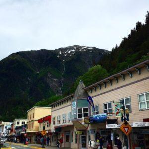 Main Street. Juneau. Alaska