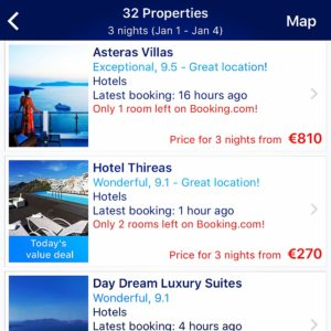Discount Accommodation App Booking.com