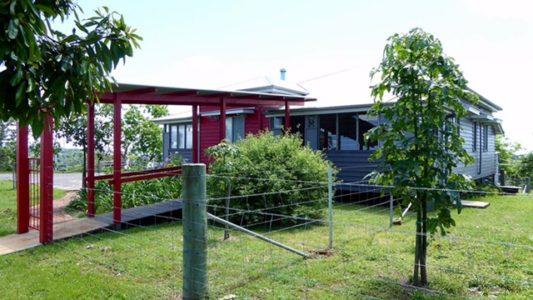 Flame Hill. Montville. Sunshine Coast. Queensland. Australia.