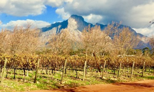 Franschhoek Village. South Africa.