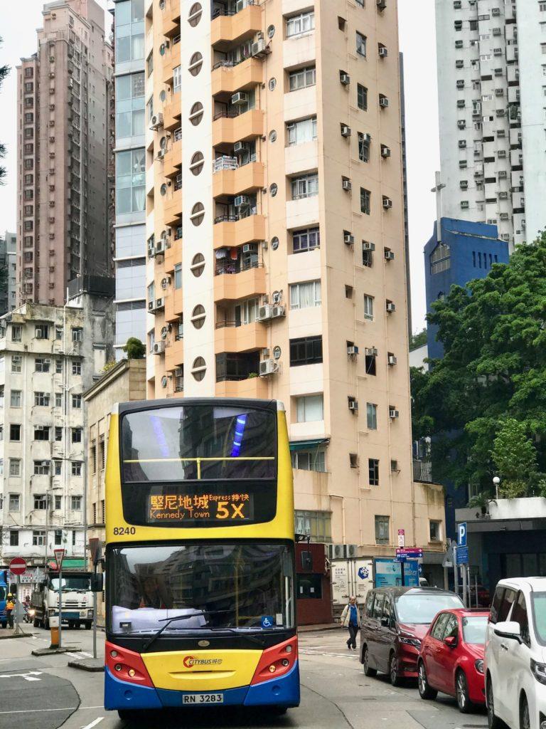 Hong Kong Island.