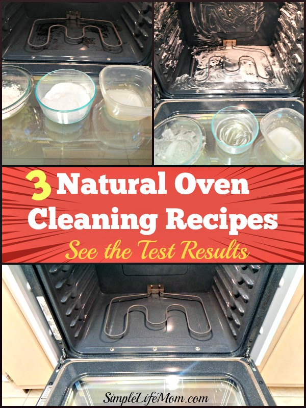 3 Natural Oven Cleaning Recipes Simple Life Mom