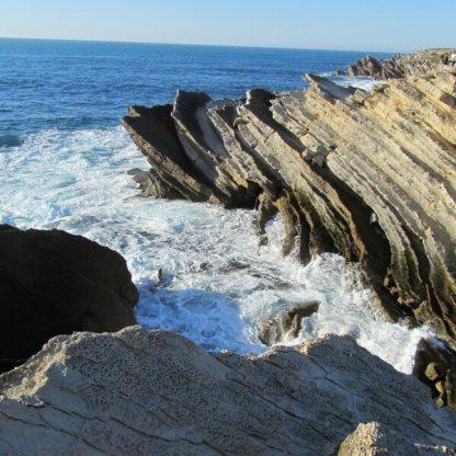 Pancake rocks at Baleal