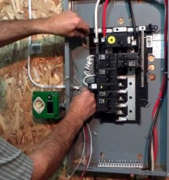 a portable generator to breaker panel wiring diagram for your home wiring diagram technic [ 1280 x 720 Pixel ]