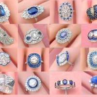 Exquisite Vintage Sapphire and Diamond Rings