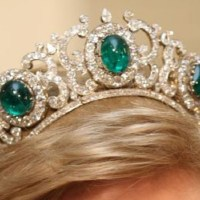 Greek Emerald Parure Tiara