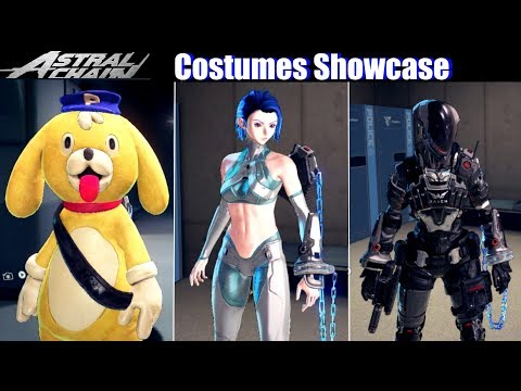 Astral Chain Unlock hidden clothing and costumes \u2013 After 9