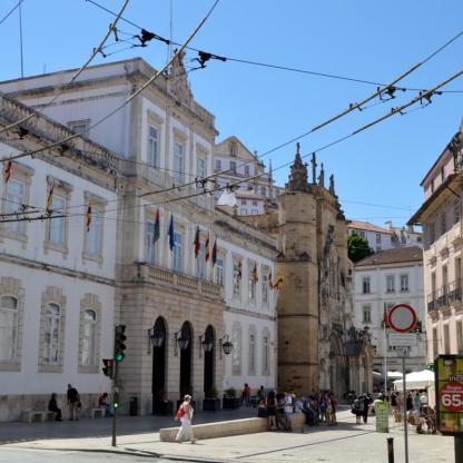 Town Hall and Baixa, Coimbra
