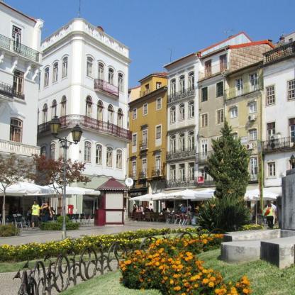 Largo da Portagem, Baixa de Coimbra. Where to stay in Coimbra
