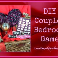 DIY Couples Bedroom Game With Printables