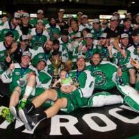 Shamrocks Bring Mann Cup Back West