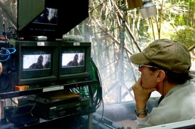 David Twohy at the monitors.