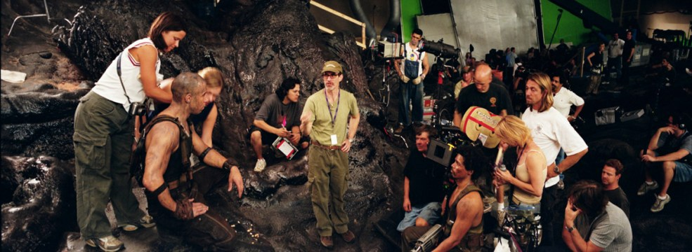 David Twohy, directing the Terminator Run sequence, TCOR, 2003.