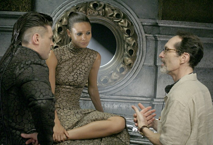 With Karl Urban and Thandie Newton