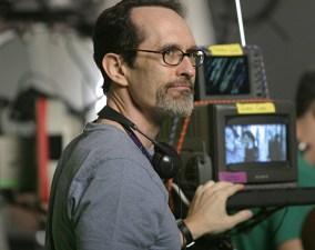 David Twohy checks a monitor.