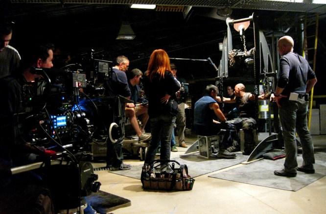 Rehearsing the Interogation scene, Montreal, RIDDICK, 2012.