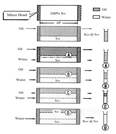 Steady State Relative Permeability Measurement