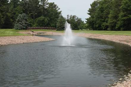 Point Place Dental Outdoor Fountain