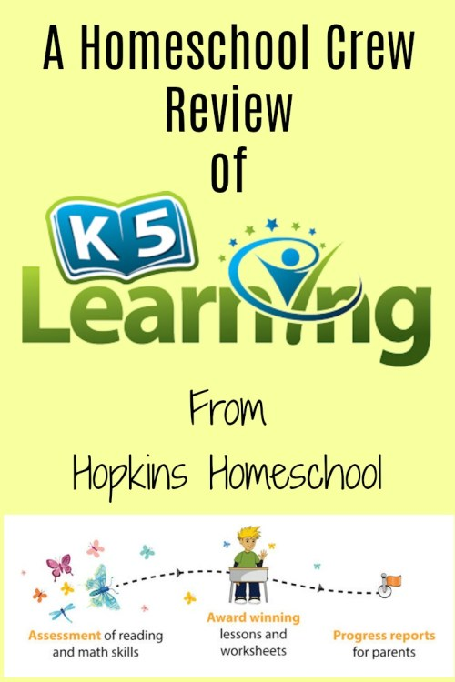 small resolution of K5 Learning – A Homeschool Crew Review ~ Hopkins Homeschool