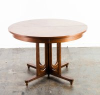 Mid Century Modern Dining Table Round United