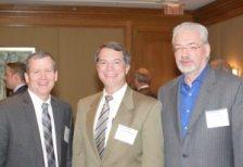 Mark Cabrey, Phacil; George Wilson, ECS Federal; Paul Leslie, Dovel Technologies