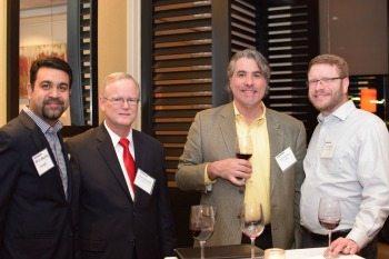 Varun Malhotra, Changeis; Bob Strom, DSA; Chris Westphal, DataWalk; John Dvorak, Salient CRGT
