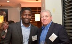 David Lee, ASRC Federal; Bob Weatherwax, AllCom Global Services