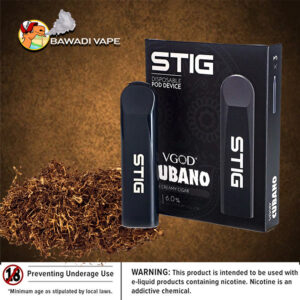 VGOD STIG DISPOSABLE POD DEVICE – CUBANO dubai