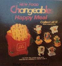 Changeables Happy Meal