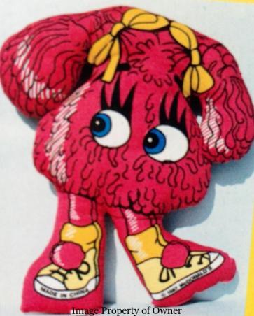Fry Girl cloth doll