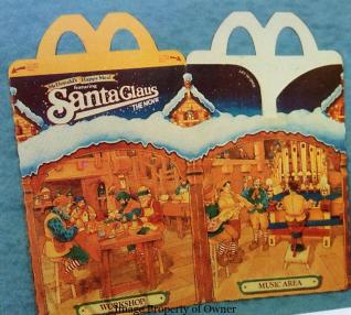 Santa Claus the Movie Happy Meal box