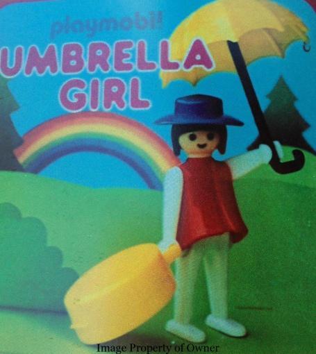 Playmobil Umbrella Girl