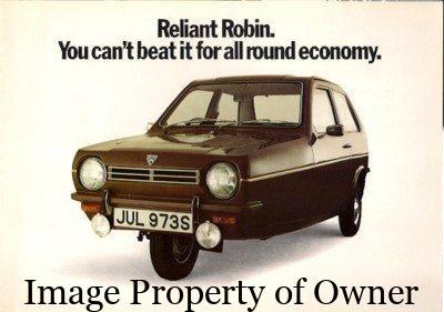Reliant Robin - brochurequestuk