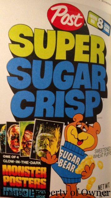 Post Super Sugar Crisp author unknown