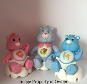 CB Kenner Hugs, Gram and Tugs on cloud chairs