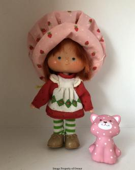 SS Kenner Strawberry Shortcake and Custard Cat