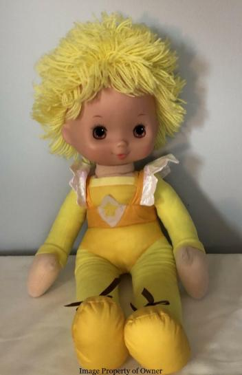 """RB 18"""" Canary Yellow Mattel"""