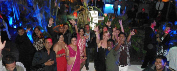 New Year's Eve 2011 at Taj West End Hotel. Noctural Synth Nation played, great night.