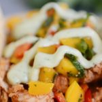 Instant Pot Chicken Tacos Chili Lime With Mango Salsa Mel S Kitchen Cafe Food Under Pressure