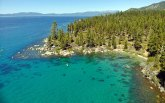 Lake Tahoe's water is delightful during the summer