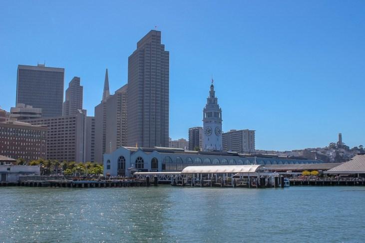 San Francisco embarcadero, California, USA