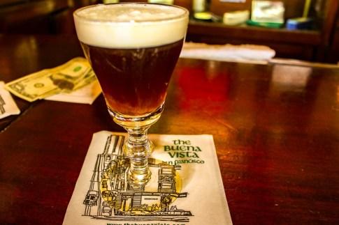 Best Irish Coffee The Buena Vista, San Francisco, California