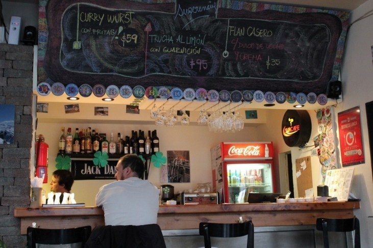 Bacchman craft beer bar in Bariloche, Argentina