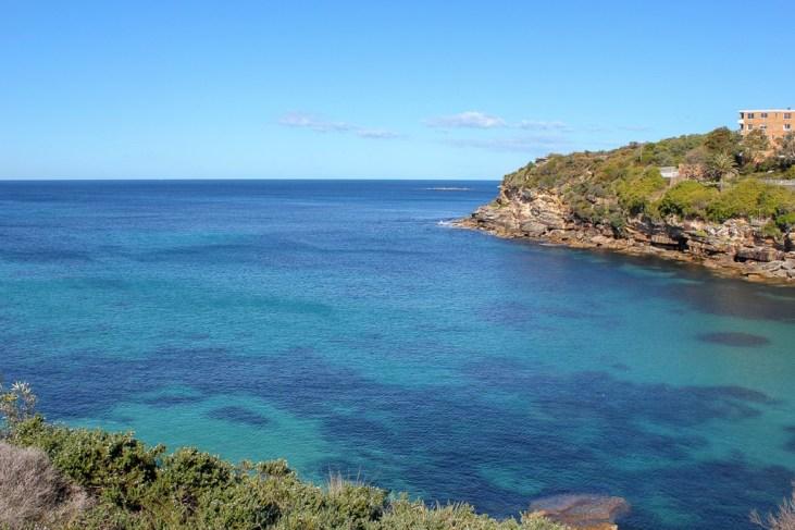 Bay views from Bondi to Coogee Walk in Sydney, Australia
