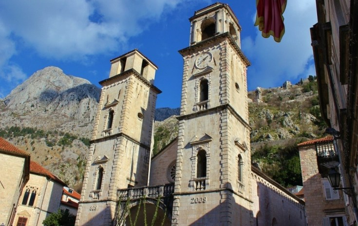 St. Tryphon Cathedral Church in Kotor, Montenegro