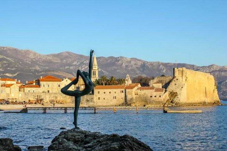 Mermaid Statue, Budva, Montenegro