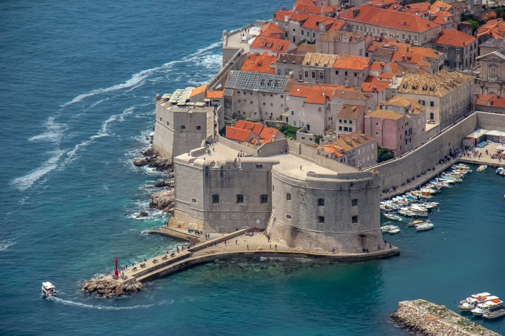 Old Port in Dubrovnik, Croatia