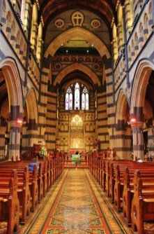 Interior, St Pauls Cathedral, Melbourne, Australia